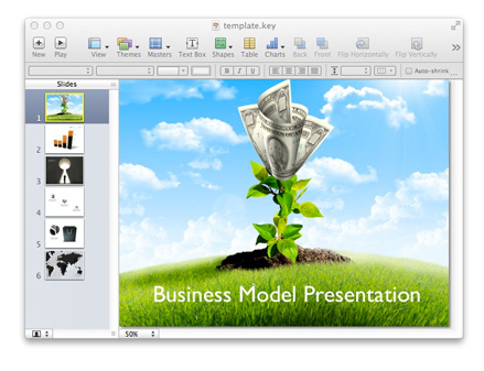 Business Model Presentations